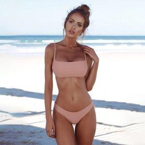 Blush Cheeky Brazilian Bikini Set [C]